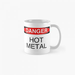 Coffee Cup Hot Metal