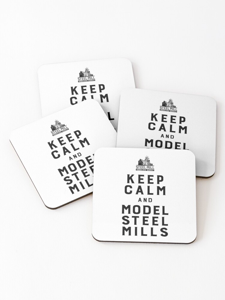 Keep Calm Coaster Set