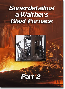 Super Detailing Walthers Blast Furnace