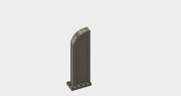 Walthers Rolling Mill Column Brace