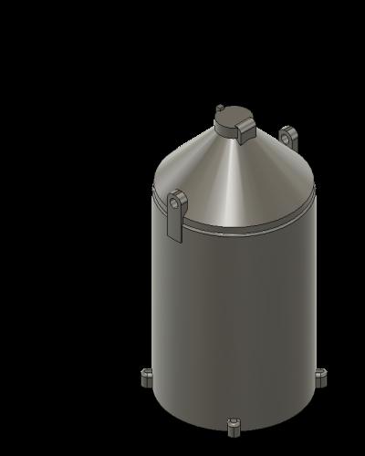 Calcium Carbide containers